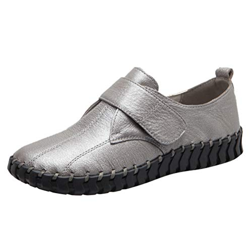 Mordenmiss Women's Driving Mary Jane Flat