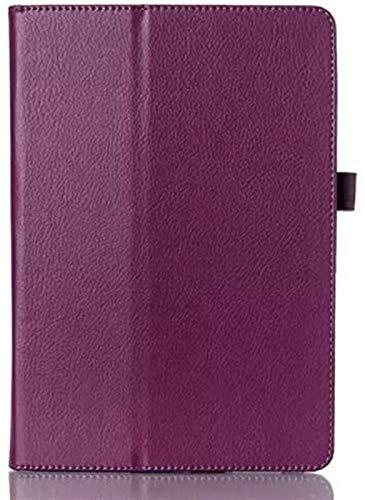 ZRH Accesorios De Pestañas para Huawei MediaPad T3, Folio Premium PU Cuero Slim Soporte Tablet Funda con Función Auto Wake/Sleep para Huawei Mediéspad T3 10.0 Pulgadas (Color : Purple)