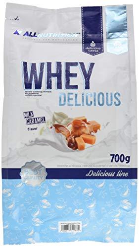 All Nutrition Siero Di Latte Premium Proteine Polvere, Caramello Al Latte - 700 g