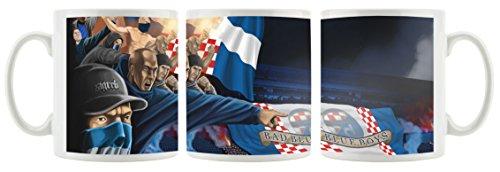 Ultras Kroatien Bad Blue Boys als bedruckte Kaffeetasse / Teetasse aus Keramik, 300ml, weiß