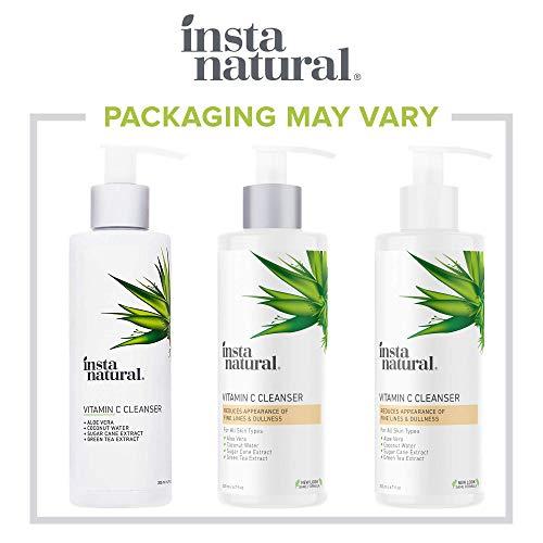 InstaNatural Vitamin C Facial Cleanser, 6.7 oz.