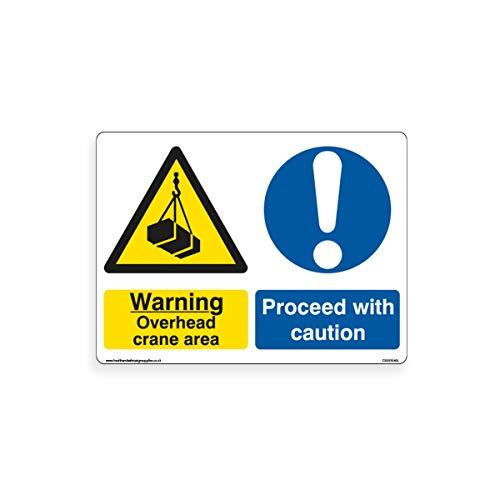 Señal de Advertencia de grúa sobre la Cabeza – Señal de precaución...
