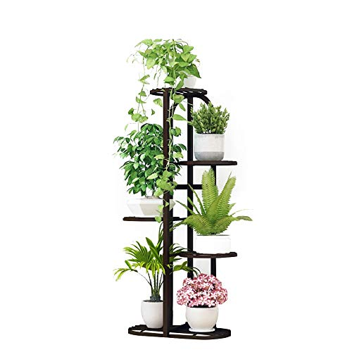Metal 5 Tiers Plant Stand Indoor Garden Flower Pot Holder Flower Rack Display Stand Bronze Buy Online In Kuwait At Desertcart Com Kw Productid 168259400