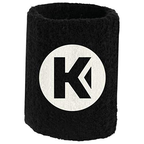 Kempa Schweißband 9 cm (1 Paar), Color:schwarz
