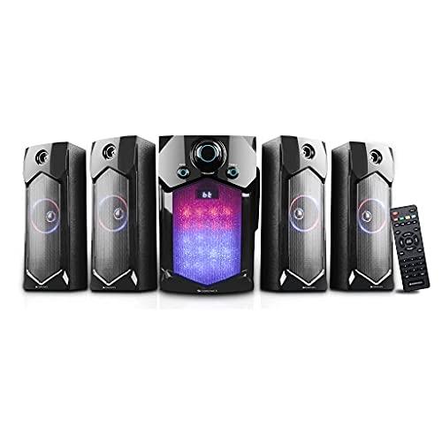 Zebronics Indie 4.1 Channel Multi Media Speaker (Black)