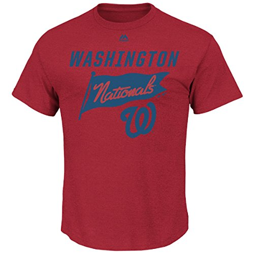 MLB T-Shirt Washington Nationals Again Next Year Shirt Tee Baseball (S)