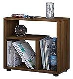 VCM Beistelltisch Tisch Nachttisch Kaffeetisch Nachtkonsole Couchtisch Wohnzimmertisch Kern-nussbaum 55x50x30 cm 'Zeito'