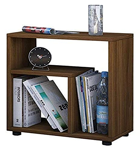 VCM Beistelltisch Tisch Nachttisch Kaffeetisch Nachtkonsole Couchtisch Wohnzimmertisch Kern-nussbaum 55x50x30 cm