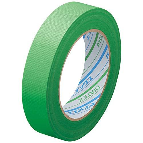 ダイヤテックス パイオランクロス 養生用テープ 緑 25mm×25m Y-09-GR [マスキングテープ]