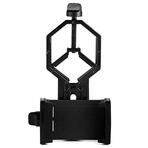 Fltaheroo Soporte de Adaptador de Telescopio para Teléfono Móvil, Funciona con Microscopio de Alcance Monocular Binocular para, y Más