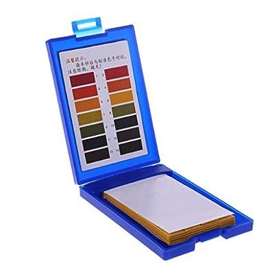 planuuik 1–14 pH-Testpapier für Tropische Aquarien, 80 Stück