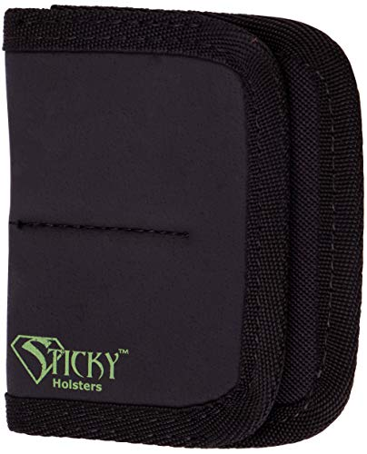 Sticky Holsters Dual Mag Sleeve - to Carry Extra Magazines, Large Folding Knife, a Flashlight Or Any Combination