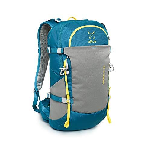 ALTUS - Mochila Trekking Musala 20L | Mochila para Montañismo, Expedición, Senderismo, Acampada, Camping, Daypack | Espalda Termoconformada | Mochila técnica, gran Confort y Movilidad