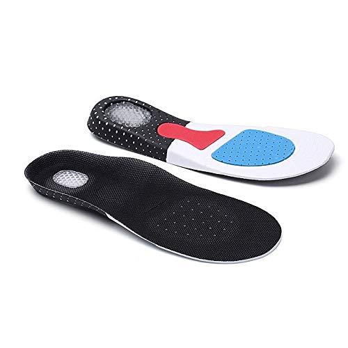 Plantillas para inserciones de zapatos Las plantillas deportivas de los hombres y las mujeres absorbentes de mujeres, las plantillas deportivas EVA se pueden cortar y transpirar para adultos para homb