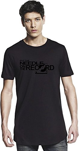 Put The Needle On The Record Long T-shirt Large