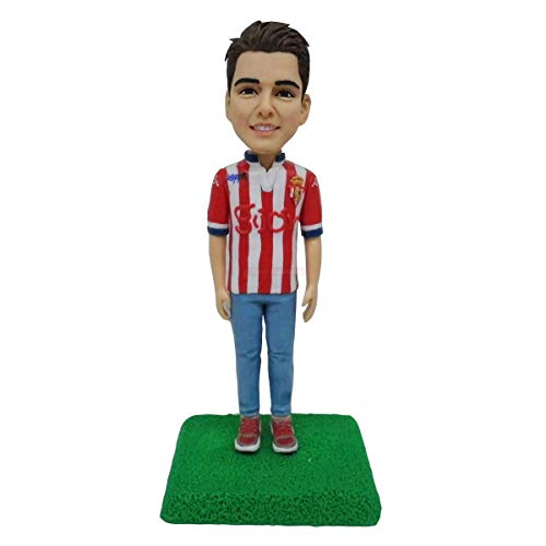 soccer team sports clothes tiny people figurine miniature statue of football player lover gift collectible marcus figurines hand sculpted