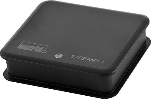 Imperial 22-9028-00 Streamy 1 WLAN-Audio-Receiver für Audio Streaming und Internetradio (AirPlay, DLNA, UPnP, Wi-Fi) schwarz