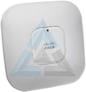 Cisco Aironet 3500 Series - AIR-CAP3502I-A-K9 Controller-based AP (2x3 (MIMO)Dual Band 2.4GHz and 5GHz Radios, Layer 3, 802.11n, PoE, Requires a Compatible WLAN Controller)