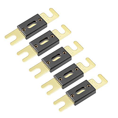 Sourcingmap ANL Fusible DC 32 voltios para Auto Coche vehículo Amplificador de Audio Inversor de Repuesto