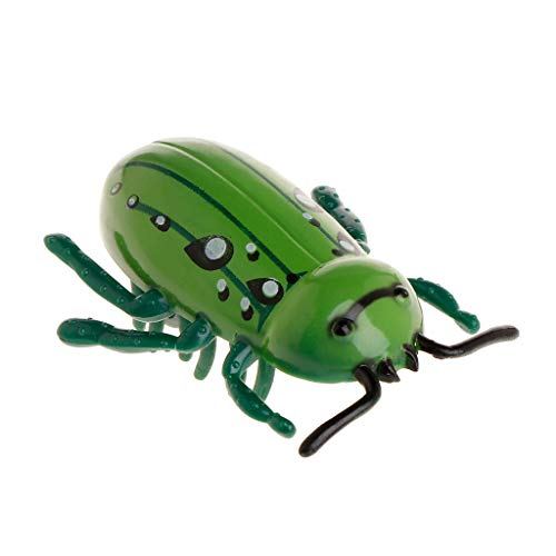 Fogun - Juguetes de Insectos eléctricos para Mascotas, Gatos, Gatitos, Perros, Cachorros, Insectos Falsos, Movimiento automático, Interactivo, Divertido Juego de Temporada
