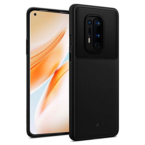 Caseology Vault for OnePlus 8 Pro Case (2020) - Matte Black