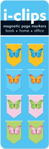 Price comparison product image Butterflies i-Clips Magnetic Bookmarks