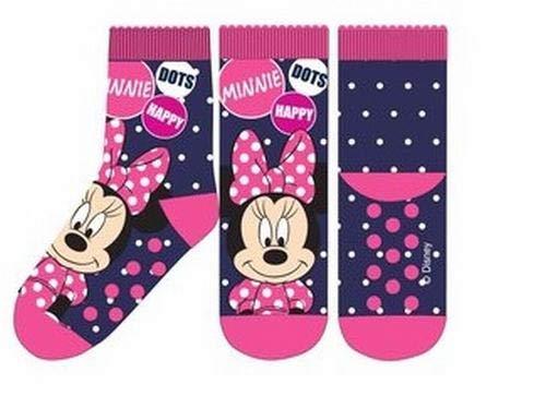 Suncity Calcetines antideslizantes Minnie Mouse Disney azules 31/34