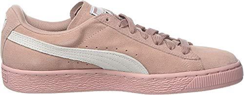 Puma Damen Suede Classic Sneaker Mehrfarbig (Peach Beige-Puma White) , 38 EU