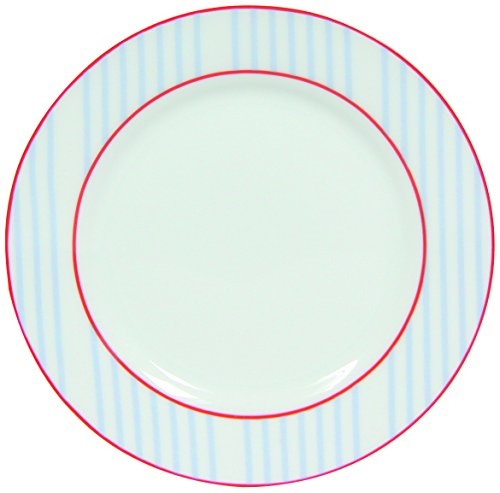 Mix 8.010.351 Picnic Giocare Novastyl 6 Piatti in Porcellana 19 x 19 cm x 1 cm