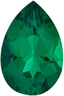 Instagem Lab Created Emerald Pear Shape AAA Quality from 5x3MM-16x12MM