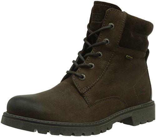 camel active Damen Outback GTX 70 Biker Boots, Braun (Peat), 38 EU