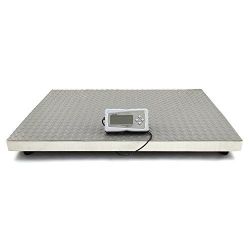 T-Mech - Balanza Electrónica 300kg 90cm x 60cm con Pantalla LCD