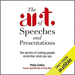The Art of Speeches and Presentations cover art