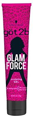 Got2b Glam Force Sculpting Hair Gel, 6 Ounce