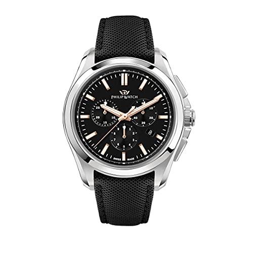 Philip Watch Orologio Uomo, Collezione AMALFI, Quarzo, Cronografo - R8271618002