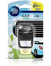 Ambi Pur Car Freshener- Exotic Jasmine, Starter Kit 7. 5 ml