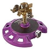 Dramm 15087 Circular Base Impulse Sprinkler with a Heavy-Duty Metal...