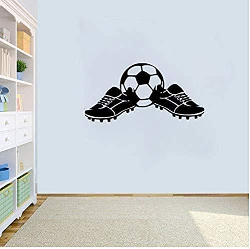 Wandaufkleber Wandbilder Wandtattoo Abziehbilder Die Coolsten Fußballschuhe Boy Sports 34X69cm