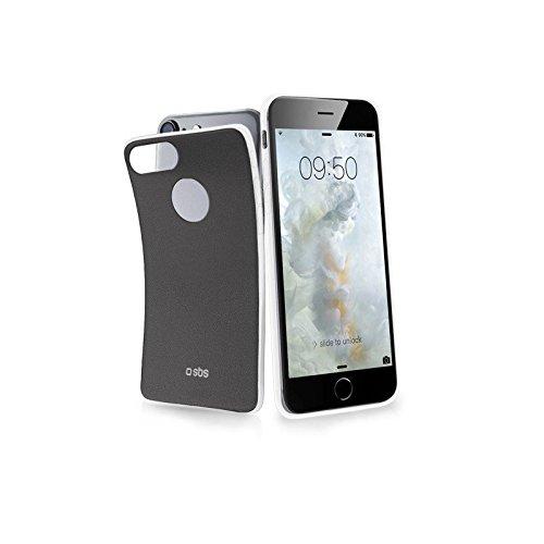 Sbs - Carcasa cover extraslim negra para iphone 7