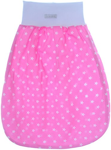 Baby rugzak slaapzak babyslaapzak zonder mouwen 68/74-60cm. roze