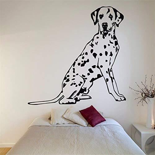 yaonuli Vinilo Adhesivo Mural Decal Dog Vinilo Desmontable 30X42cm