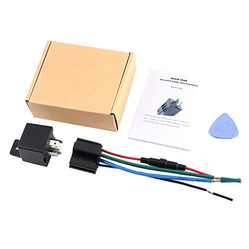Sonline Rastreador GPS de Relé de Coche Localizador de Dispositivos de Seguimiento Control Remoto Antirrobo Corte de Aceite Acc Remolcado Sistema de Alarma SMS