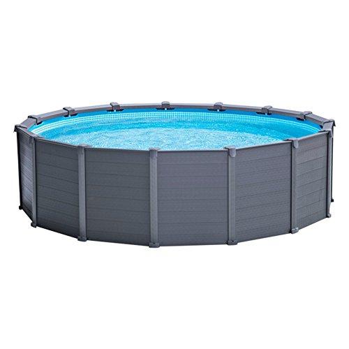 Intex Pool Graphite Panel Frame 478 x 124 cm