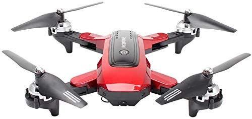 Mnjin Drone Pieghevole con Fotocamera 4K, Posizionamento GPS per Aereo Fotografia Aerea Quadcopter Altitude Hold RC 5G WiFi FPV 2 batterie