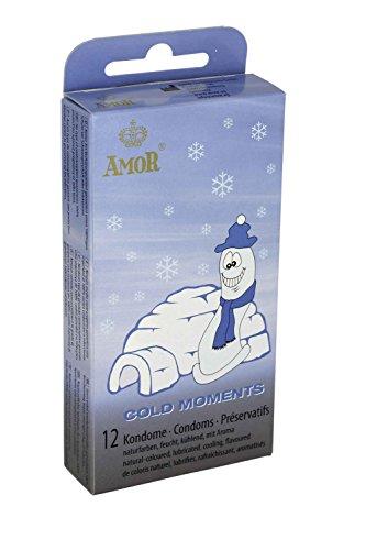 Amor Cold Moments, Kondome für den extra Frische-Kick, 1 x 12 Stück