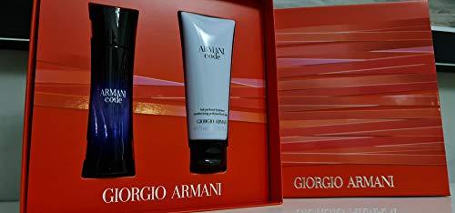 Giorgio Armani Code Femme Duftset (Eau de Parfum, 30+Bodylotion,75ml), 200 g
