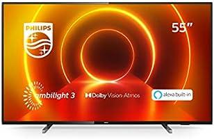 "Philips 55PUS7805/12 Telewizor LED Smart 4K UHD, 55"", Czarny"