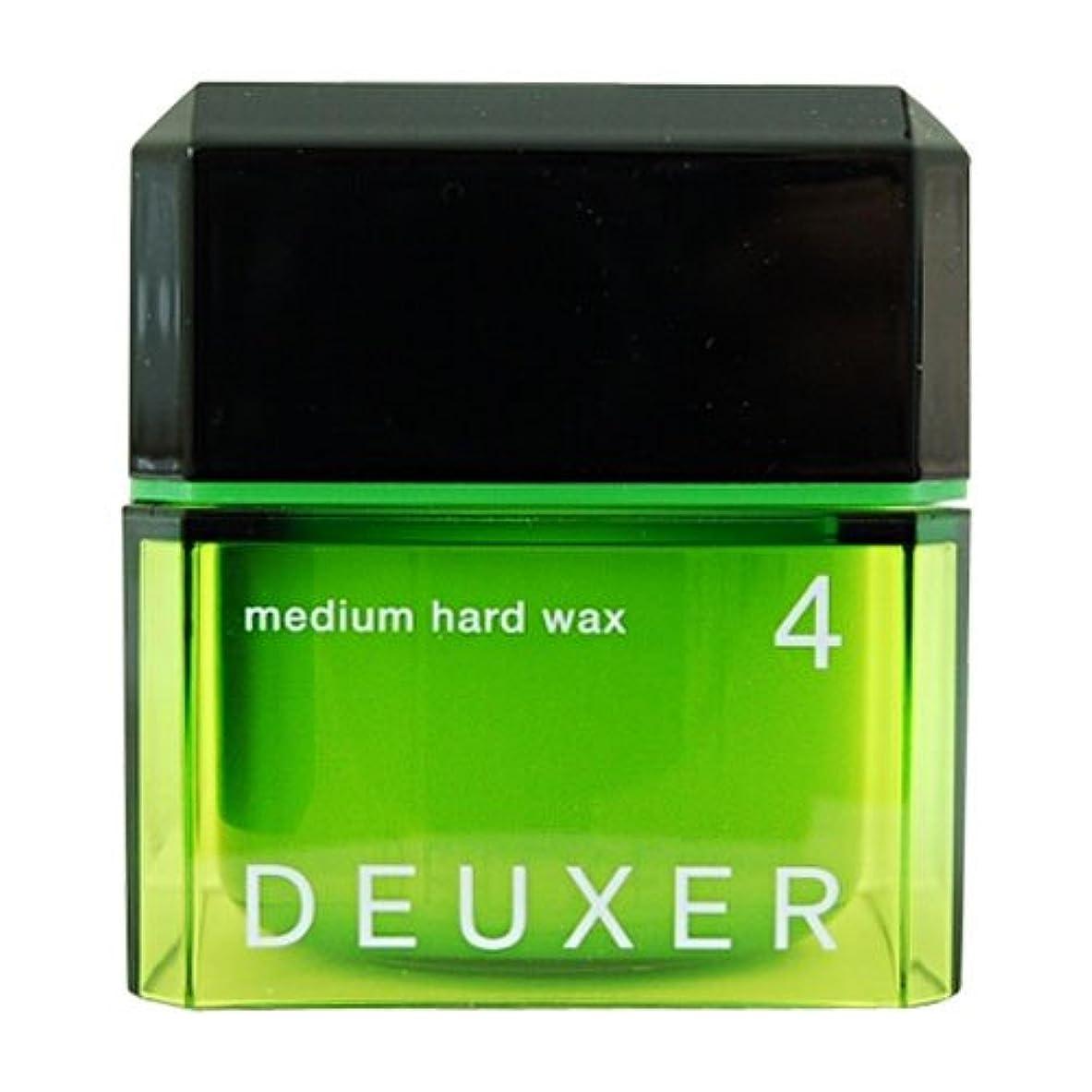 和解する失効カウントアップナンバースリー DEUXER(デューサー) ミディアムハードワックス 4 80g
