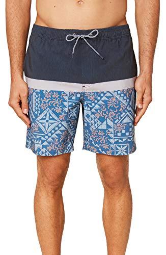 O'NEILL Pantalones cortos de natación para hombre, resistentes al agua, elásticos, 17 pulgadas
