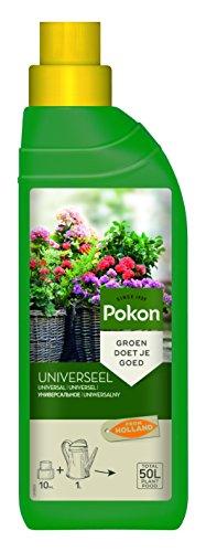 Pokon Universal Flüssigdünger für alle Grün- und Blühpflanzen und Zimmerpflanzen mit extra Eisen, 500ml